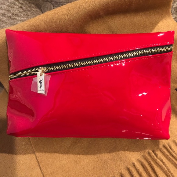 d02782e83105 Authentic NWOT Yves Saint Laurent YSL Makeup Bag
